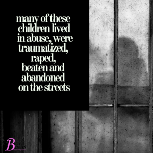 The children of death row lived in abuse
